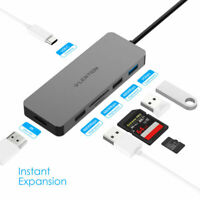 LENTION Multiport USB C Hub to HDMI USB 3.0 PD Adapter SD Reader for MacBook Pro