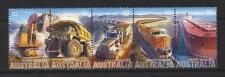 AUSTRALIA 2008 AUSTRALIAN HEAVY HAULERS STRIP OF 5 UNMOUNTED MINT, MNH.