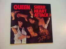 QUEEN Sheer Heart Attack LP UK issue with lyric inner sleeve
