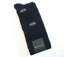 b.ella Ladies Wool Cashmere Angora Blend OVER Knee Socks Bess Caviar Black - NEW