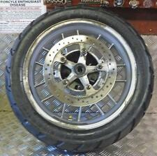 TRIUMPH TIGER 955I 2004 REAR WHEEL & METZELER  150/70R/17 TYRE AND DISC