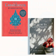 Casablanca and How to eat a peach 2 Books Collection Set My Moroccan Food NEW