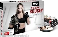 UFC - Ronda ROUSEY DVD BRAND NEW RELEASE SEALED 4-DISCS COLLECTOR'S GIFT BOX R4