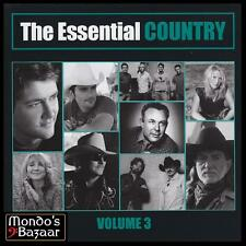 COUNTRY (2 CD) ALABAMA~RICKY SKAGGS~BRAD PAISLEY~HIGHWAYMEN~WILLIE NELSON *NEW*