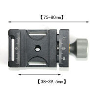 Quick-Release Clamp Adapter for Rrs/Arca-Swiss /Kirk / Wimberley Ball Head