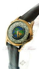 "PATEK PHILIPPE 5131J WORLD TIME ""MAP"" CLOISONNE DIAL YELLOW GOLD 5131J-001"