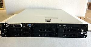 "DELL POWEREDGE 2950 III 2x INTEL XEON QUAD CORE E5410 16GB RAM 6x 1TB 3.5"" SATA"