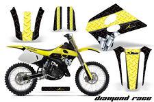Suzuki RM 125  Graphics Kit AMR Racing Bike Decal RM125 Sticker Part 93-95 DRBY