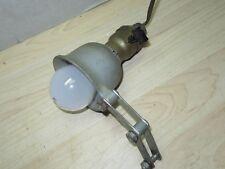 Vintage Delta articulating task Light Lamp  Drill Press Scroll Band Saw