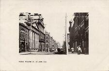 canada, St. JOHN, N.B., Prince William Street (1908) RPPC