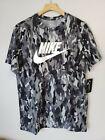 Nike Sportswear Club Men's Camo T-Shirt Size Large. 100% Cotton  #CU7454 077