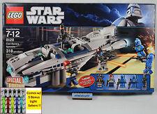 LEGO Star Wars - 8128 Cad Bane's Speeder NISB Shahan Alama Senate Commando