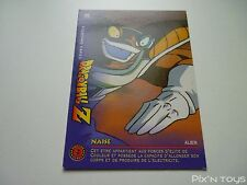 Carte originale Dragon Ball Z Fighting Cards N°86 / Panini 1999 BIRD STUDIO