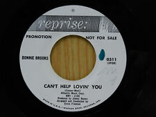 Donnie Brooks dj 45 PICK UP THE PIECES / CAN'T HELP LOVIN YOU ~ Reprise VG++