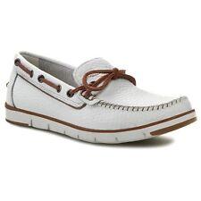 New no box Moccasins Boat Shoes GEOX - U Rylan D U42X4D Optic White size 10 M