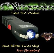 ViperTek 78 MILLION Volt VTS-989  Self Defense Stun Gun LED Light, Tazer holster