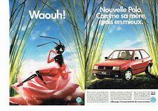 Publicité Advertising 037  1990   la Polo  CL Volkswagen (2p)  vw