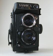 Yashica Mat-124G Mittelformat Kamera inkl. Nahlinse u. Tasche
