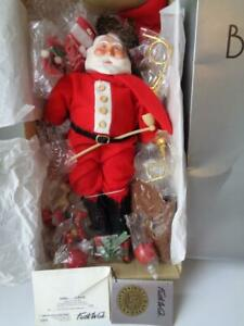 Vintage 1984 Faith Wick Father Santa Claus Doll Mint in Box COA LE #1047 of 3000