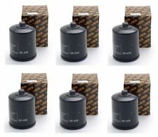 2011-2013 Harley Road King Classic FLHRC Oil Filter - (6 pieces)