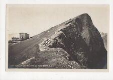 Sommet des Rochers de Naye Switzerland Rp Postcard 388a