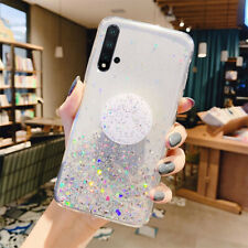 Bling Glitter Case For Huawei P30 Pro P30 Lite Gel Silicone Clear Phone Cover
