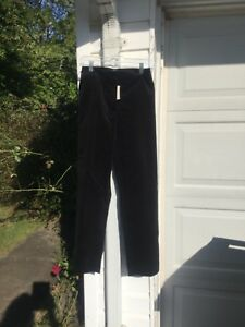 "NWT Talbots Cute ""Hampshire"" Black Velvet Pants 18W 2X"