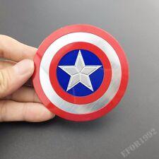 Captain America Shield Auto Motorcycle Tank Aluminum Emblem Badge Decal Sticker