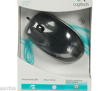 Logitech USB Wired Optcal Mouse for Windows 10/8/7/XP PC/MAC Notebook Desktop M