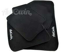Black Floor Mats For Honda Accord 1998-2002 with Autowin.eu Emblem LHD Side