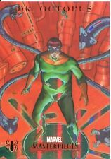 Marvel Masterpieces 2007 Spiderman Foil Parallel Chase Card S6 Dr. Octopus