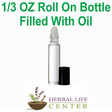Honey Suckle UNCUT Body Oil Perfume Cologne Unisex Women 1/3 OZ Roll On Clear