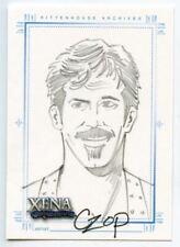 Xena Art & Images Sketch Card by John Czop Autolycus