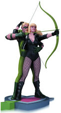 DC Collectible 12 Inch Statue Figure - Green Arrow And Black Canary