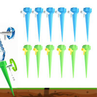 12PC Plant Self Watering Spikes Adjustable Stakes System Vacation Plant Waterer