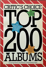 More details for critic's choice top 200 albums by paul gambaccini, omnibus press 1978