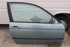 Bmw E46 3er Compact TI Tür vorne rechts Beifahrertür 2Türer 442 graugrün