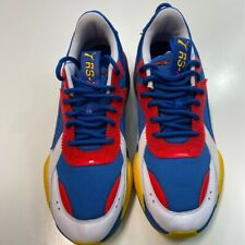 PUMA Mens RS-X Subvert Running Shoes Multicolor Blue 371860-01 Low Top 12 M New