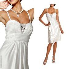 Kleid von Heine Abendkleid Gr.46 NEU Damen weiß Stark REDUZIERT!