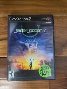 JADE COCOON 2 RARE PS2 SONY Playstation 2 Video Game in case - no manual UBISOFT