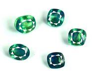 Greenish Blue Paraiba Tourmaline Natural 25 Ct.+/5 Pcs Gemstone Lot Certified