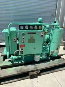25 hp SULLAIR CORP 10B-25 ROTARY SCREW AIR COMPRESSOR *LOW HOURS*