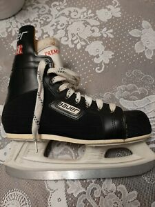 Bauer premier  Ice Hockey Skates Size 6 D Black ICM-Comp preowned good condition