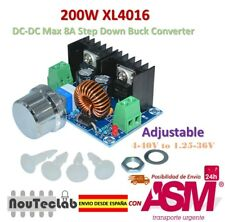 200W XL4016 DC-DC 8A Step Down 4-40V to 1.25-36V Adjustable Power Supply