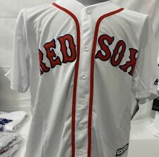 Red Sox #50 Mookie Betts Majestic Player Jersey