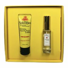 The Naked Bee Pomegranate & Honey Hand & Body Lotion and Perfume Gift Set