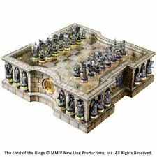 Noble Collection Chess Set Lord of the Rings Pewter LOTR NN2990