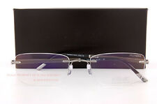 Silhouette Eyeglass Frames Hinge C-2 Collection 5423 6050 Grey/Tobacco SZ 55