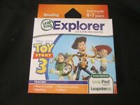 LEAP FROG  Explorer Learning Game - TOY STORY 3 - Game - BRAND NEW