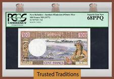 Hard-Working Tt Pk 24b 1973 Tahiti 100 Francs Pmg 67 Epq Superb Gem Pop Three None Finer! Paper Money: World